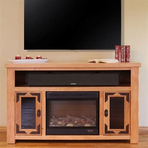 tv stand w fireplace rustic tv stand w electric fireplace tv stand w fireplace