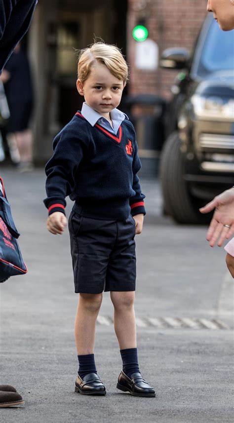 s day pg pictures royal prince george starts day of
