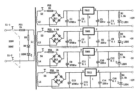 Multi Regulator Tv free electronic circuits projects archive 25n15 and tea2261 based tv power supply switching