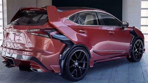Lexus Custom by Lexus Nx Kit Lexus Nx Tuning Lexus Nx Custom