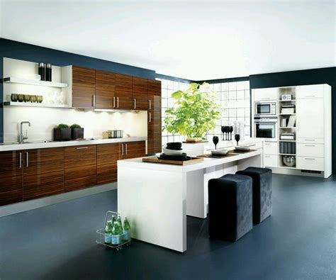 New Home Designs Latest Kitchen Cabinets Designs Modern Contemporary Kitchen Design Ideas