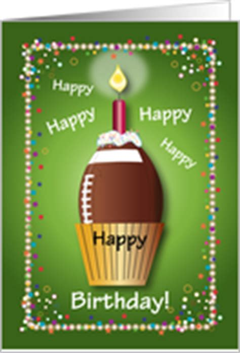football birthday cards to make football birthday cards from greeting card universe