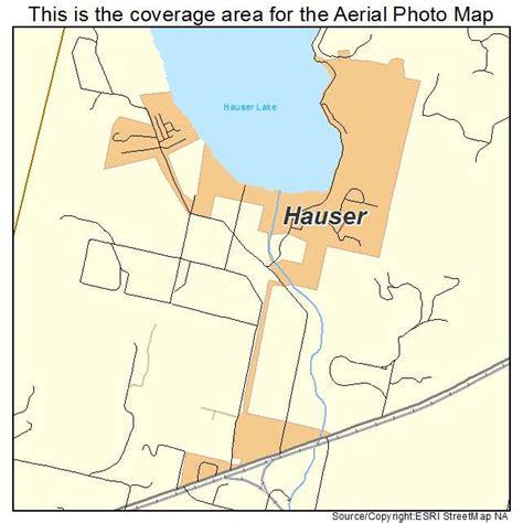 hauser idaho aerial photography map of hauser id idaho