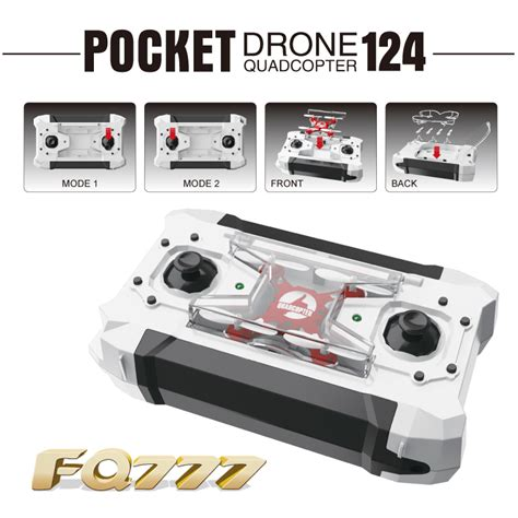 1mini Drone Rc Drone Quadcopter With Switchable Controller Uav dron quadrocopter fq777 124 pocket drone 4ch 6axis gyro quadcopter with switchable controller