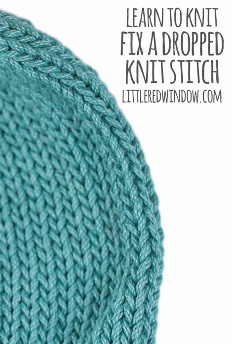 how to fix a dropped knit stitch 388 best knitting patterns images on knit