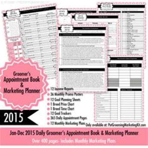 Dog Grooming Spa Menu And Dogs On Pinterest Grooming Appointment Templates