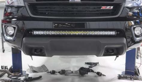 Led Light Bar Install 150w High Power Led Light Bar For Gmc Chevy Colorado