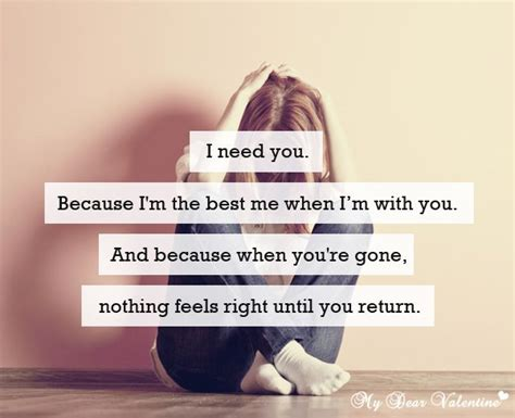 i need you quotes quotesgram