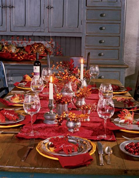 Thanksgiving Table Decorations by Source Design Remont Hgtv