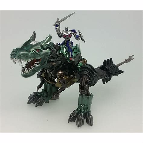 Transformers Dinobots Taikongzhans Strafe official images takara tomy transformers 10th anniversary grimlock and strafe