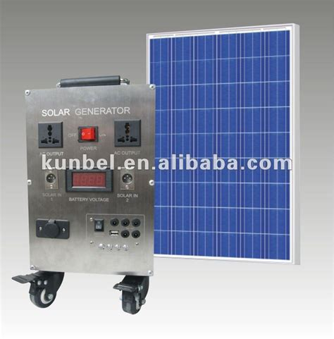 200w solar power generator for home use china mainland