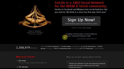 Search For On Fetlife Fetlife Fetesh Community