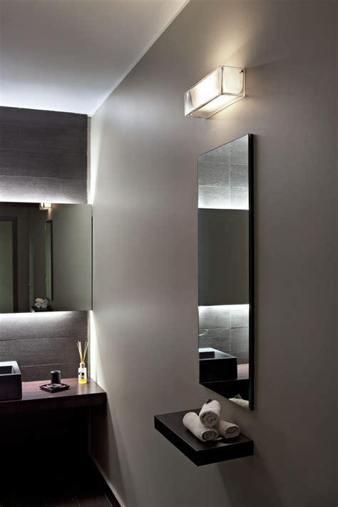 flos bathroom light wall lights on the rocks
