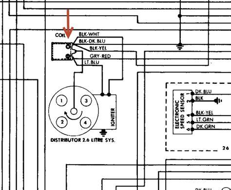 chrysler ignition coil wiring diagram chrysler