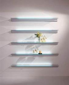 Floating Shelf Glass by Wall Shelves Floating Glass Shelves Wall Mount Floating