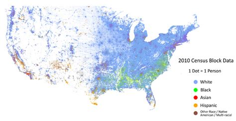 map usa races this map shows how american cities are racially segregated
