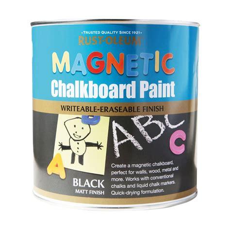 magnetic chalkboard paint dulux rust oleum black magnetic chalkboard paint 2 5l at