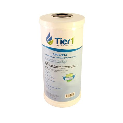 whirlpool whole house water filter whkf dwhb whirlpool comparable whole house sediment water filter by tier1