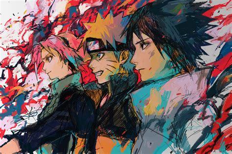 naruto team 7 clan tumblr team 7 naruto image 1557714 zerochan anime image board