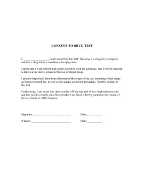 printable drug quiz uk consent to drug test template