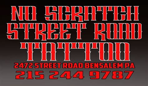 street road tattoos road tattooz 37 photos parlours 2472