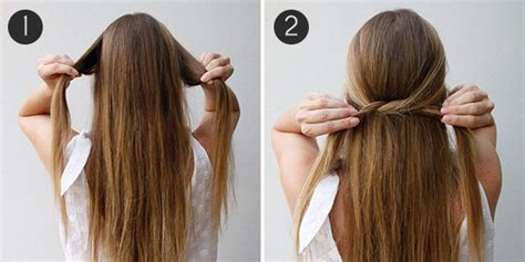 cool straight hair styles diy hairstyles for straight 19 lazy girls hairstyle diy ideas for all busy mornings