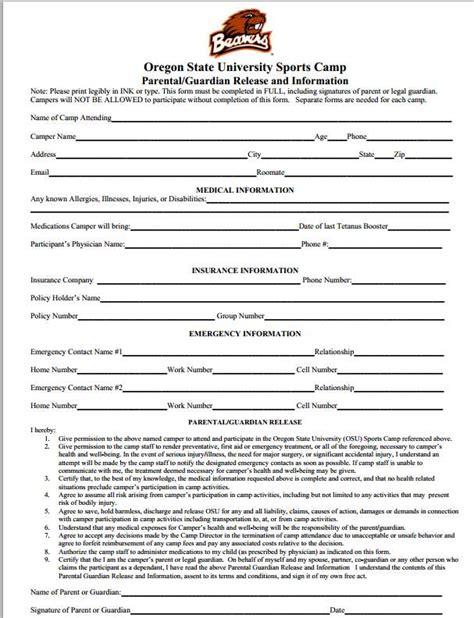 Oregon Records Request Release Form Release Form 2 Lhumc