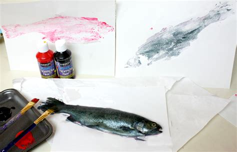 a among fishes the of gyotaku books gyotaku fish prints cotton ridge create