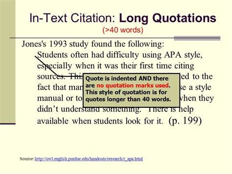 apa format quotes documentation in text citations parenthetical references