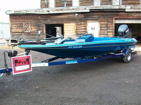 used gambler bass boats gambler bass boat boats for sale