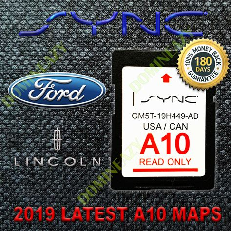 latest ford  navigation sd card gps map update sync fits lincoln updates  ebay
