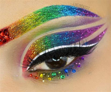 makeup tutorial queer best 25 rainbow makeup ideas on pinterest rainbow eye