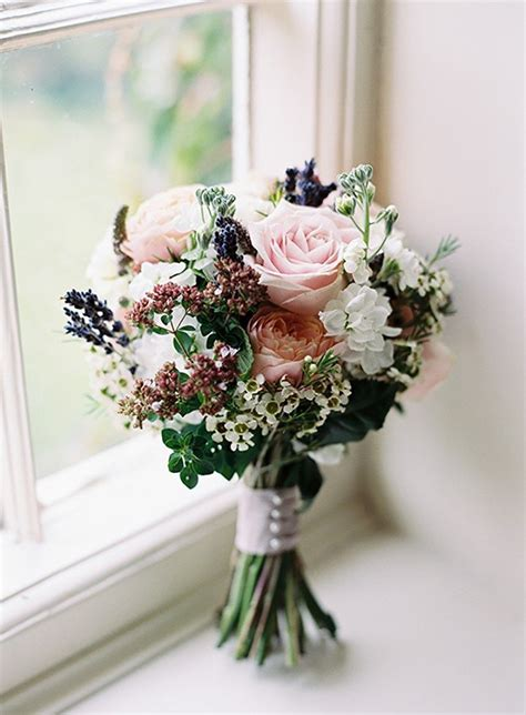 Floral Bouquets by Peony Lavender Bouquet Bridal Flowers Pink