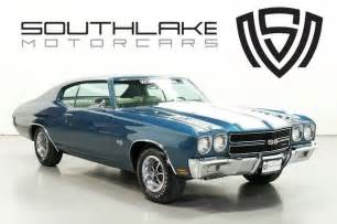 70 chevy chevelle ss 454 all original all documents
