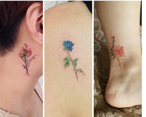 flores tattoo 161 hermosos 16 tatuajes que toda amante de las flores no