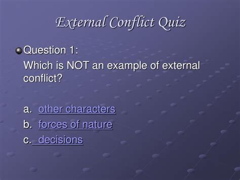 ppt vs external conflict powerpoint presentation id 5403593