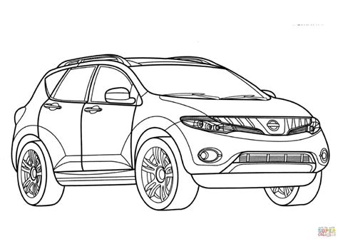nissan cars coloring pages nissan pickup trucks coloring pages nissan car coloring