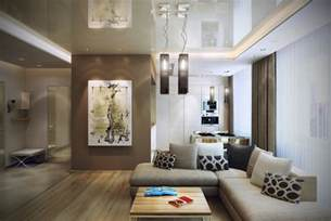 Livingroom Interior Modern Design In Modest Proportions