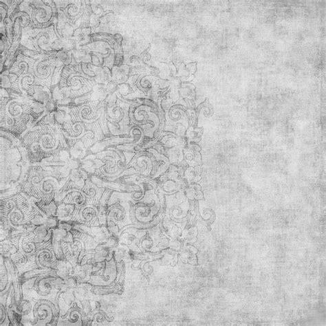 grungy vintage floral damask scrapbook background stock illustration illustration of