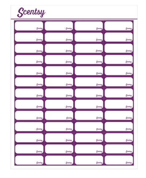 template labels scentsy voltage pyo labels template scentsy open office