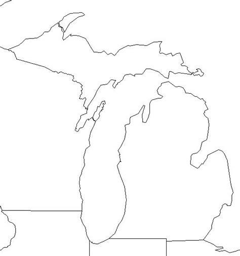 template of michigan map template category page 1 vinotique