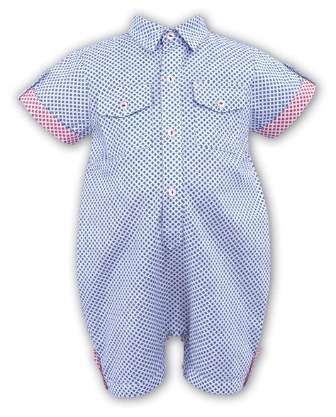 Checked romper baby boutique clothing