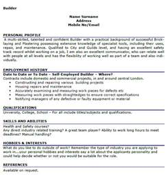Resume Hobbies And Interests Examples Free Resume Template