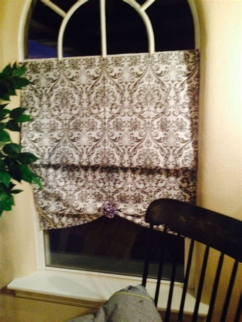 No Sew Curtain Made With 2 95 Tension Rod From Family