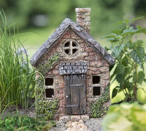 fairy garden houses 5 5 quot mini bucklin cottage terrarium fairy garden miniature dollhouse terrarium ebay