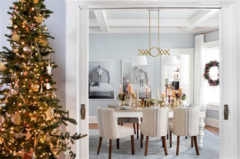 Home Interiors Christmas by Charming Design With Gold Cute Accessory On Slender