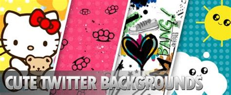 cute themes for twitter graphics 30 cute twitter backgrounds
