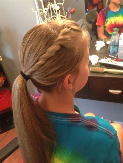 Softball Hairstyles by 1000 Images About Softball Hairstyles Bows On