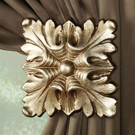 curtain rods and holdbacks 120 best curtain holdbacks images on pinterest sheet