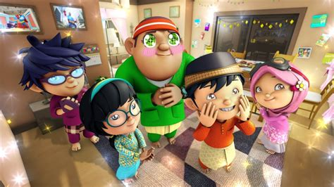 film hari kiamat kartun boboiboy ucapan raya promo 2013 youtube